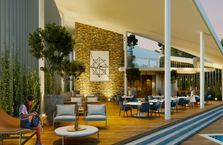 Apartamento de 1 habitación con terraza y patio en Vista Cana