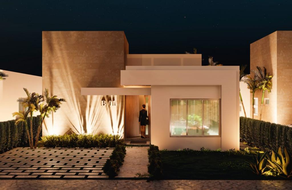 Villa de 2 habitaciones con patio en Bavaro Punta Cana