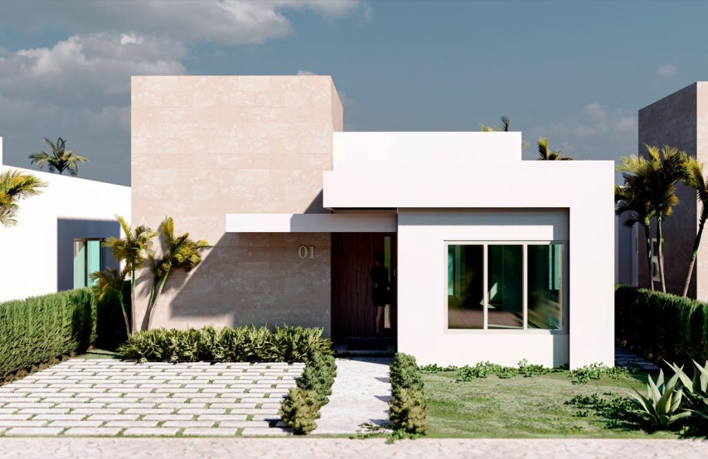 Villa de 3 habitaciones con patio – Bavaro Punta Cana