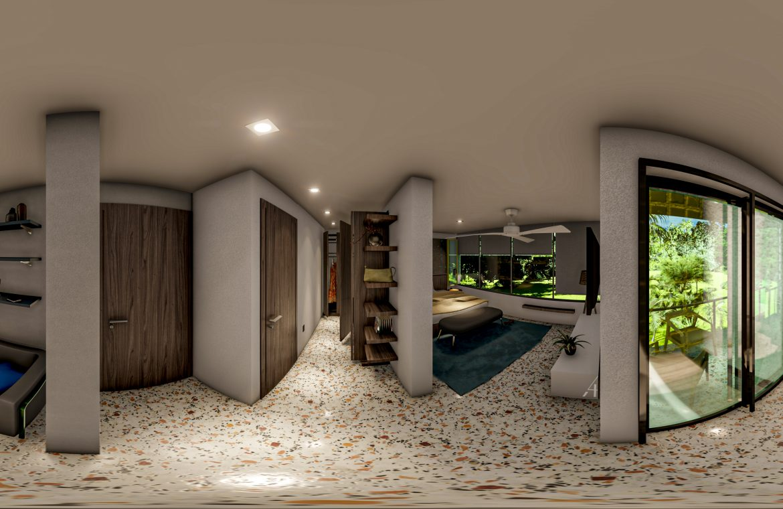 Villas de 3 habitaciones con patio y terraza en Bavaro Punta Cana