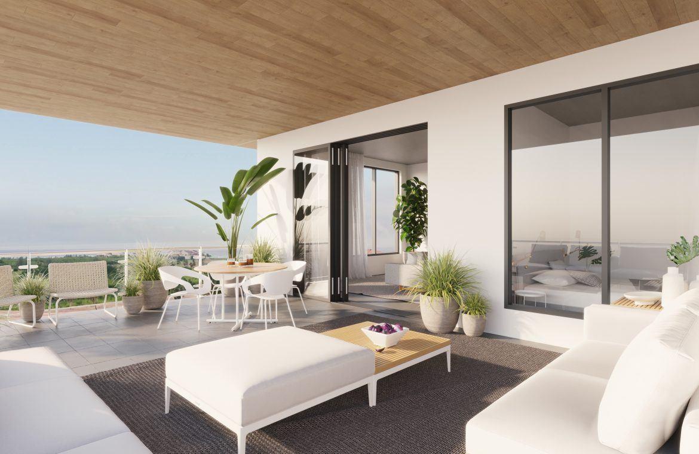 Apartamento de 2 habitaciones con habitación de servicio en Cap Cana