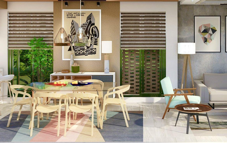 Apartamento de 2 habitaciones en Vista Cana