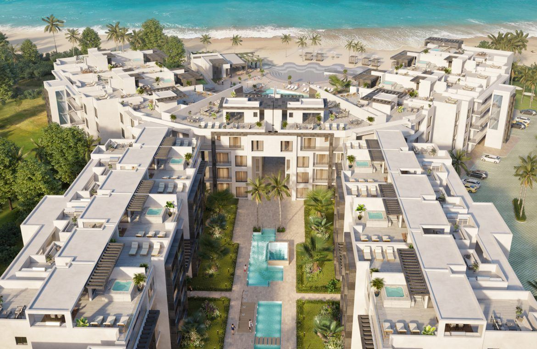 Apartamentos de 1 habitación frente al mar en Ocean Bay