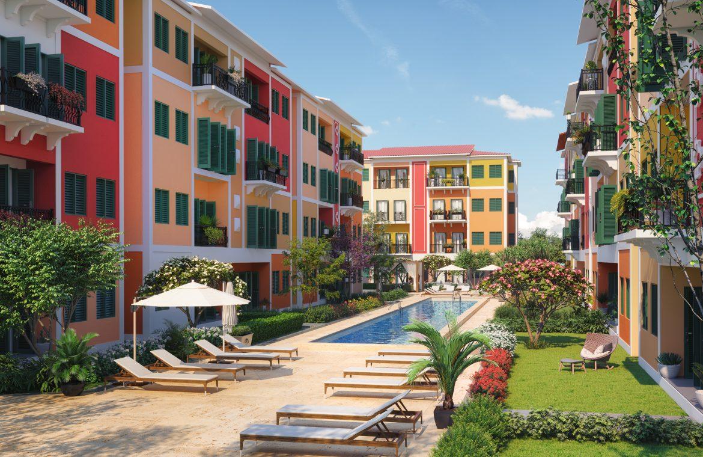 Apartamentos de 2 habitaciones en Reserva Real