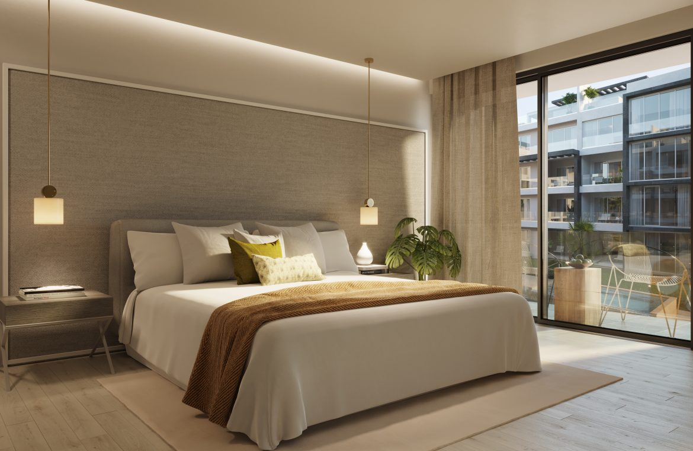 Apartamentos de 2 habitaciones frente al mar en Ocean Bay