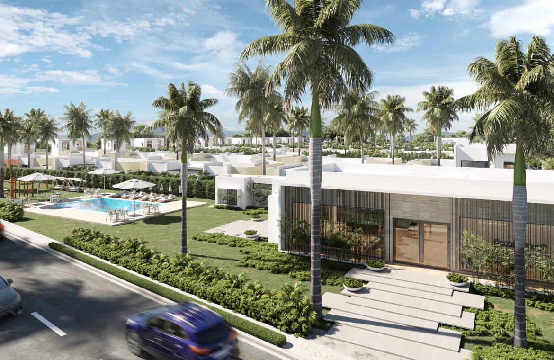 Villa de 2 niveles y 3 habitaciones Tipo B en Atabey Residence en Punta Cana